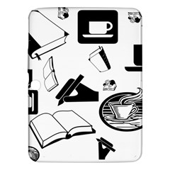 Books And Coffee Samsung Galaxy Tab 3 (10.1 ) P5200 Hardshell Case