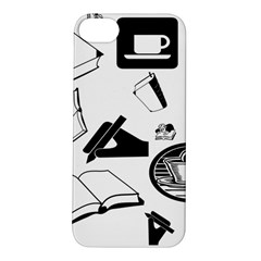 Books And Coffee Apple Iphone 5s Hardshell Case
