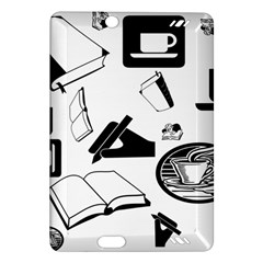 Books And Coffee Kindle Fire Hd 7  (2nd Gen) Hardshell Case