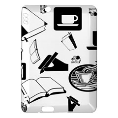 Books And Coffee Kindle Fire Hdx 7  Hardshell Case