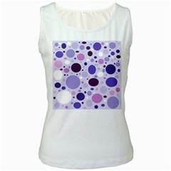 Passion For Purple Women s Tank Top (White)