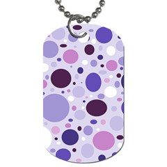 Passion For Purple Dog Tag (two Sided)