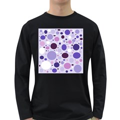 Passion For Purple Men s Long Sleeve T-shirt (Dark Colored)