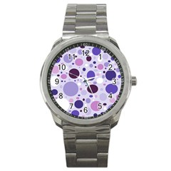 Passion For Purple Sport Metal Watch