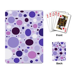 Passion For Purple Playing Cards Single Design