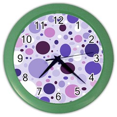 Passion For Purple Wall Clock (Color)