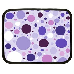 Passion For Purple Netbook Sleeve (Large)