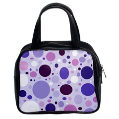 Passion For Purple Classic Handbag (two Sides)