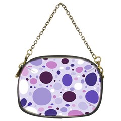 Passion For Purple Chain Purse (two Sided)