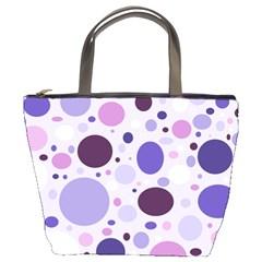 Passion For Purple Bucket Handbag