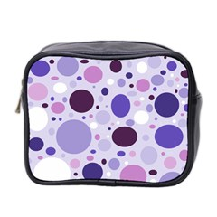 Passion For Purple Mini Travel Toiletry Bag (Two Sides)
