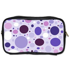 Passion For Purple Travel Toiletry Bag (two Sides)