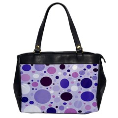 Passion For Purple Oversize Office Handbag (one Side)