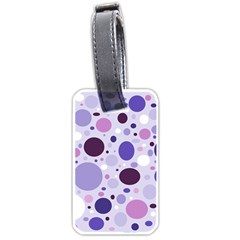 Passion For Purple Luggage Tag (Two Sides)