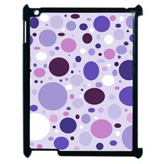 Passion For Purple Apple iPad 2 Case (Black)