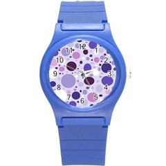 Passion For Purple Plastic Sport Watch (Small)