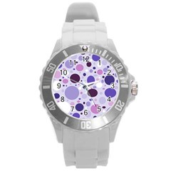 Passion For Purple Plastic Sport Watch (Large)