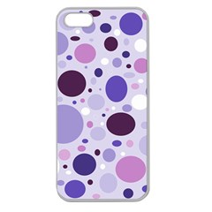 Passion For Purple Apple Seamless Iphone 5 Case (clear)