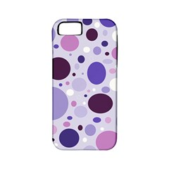 Passion For Purple Apple Iphone 5 Classic Hardshell Case (pc+silicone)
