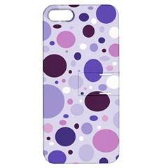 Passion For Purple Apple Iphone 5 Hardshell Case With Stand