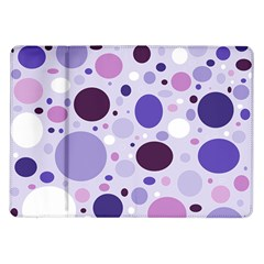 Passion For Purple Samsung Galaxy Tab 10.1  P7500 Flip Case