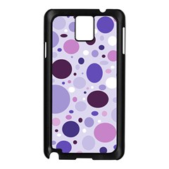 Passion For Purple Samsung Galaxy Note 3 N9005 Case (Black)