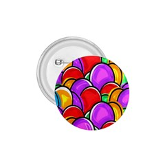 Colored Easter Eggs 1 75  Button