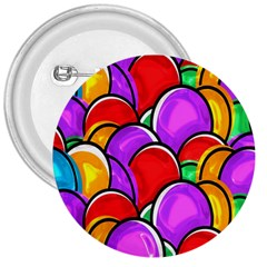 Colored Easter Eggs 3  Button