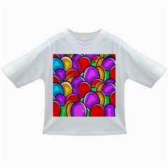 Colored Easter Eggs Baby T Shirt