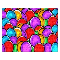 Colored Easter Eggs Jigsaw Puzzle (Rectangle)