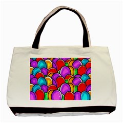 Colored Easter Eggs Classic Tote Bag