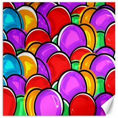 Colored Easter Eggs Canvas 16  X 16  (unframed)