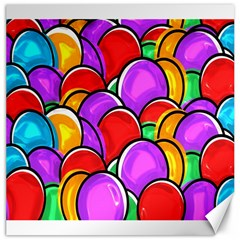 Colored Easter Eggs Canvas 20  x 20  (Unframed)