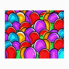 Colored Easter Eggs Glasses Cloth (Small, Two Sided)