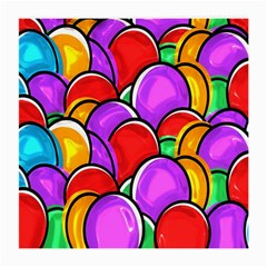 Colored Easter Eggs Glasses Cloth (Medium, Two Sided)