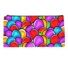 Colored Easter Eggs Pencil Case
