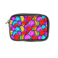 Colored Easter Eggs Coin Purse