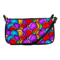 Colored Easter Eggs Evening Bag