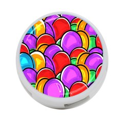 Colored Easter Eggs 4-Port USB Hub (Two Sides)