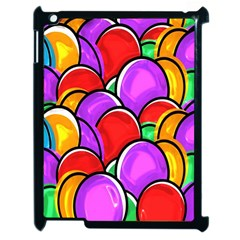 Colored Easter Eggs Apple Ipad 2 Case (black)