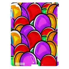 Colored Easter Eggs Apple Ipad 3/4 Hardshell Case (compatible With Smart Cover)