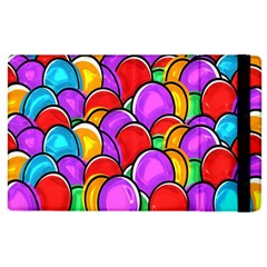 Colored Easter Eggs Apple iPad 2 Flip Case