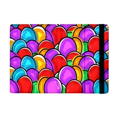 Colored Easter Eggs Apple iPad Mini Flip Case