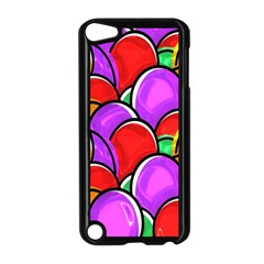 Colored Easter Eggs Apple iPod Touch 5 Case (Black)