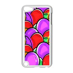 Colored Easter Eggs Apple iPod Touch 5 Case (White)