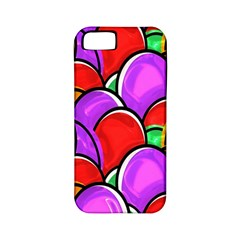 Colored Easter Eggs Apple Iphone 5 Classic Hardshell Case (pc+silicone)