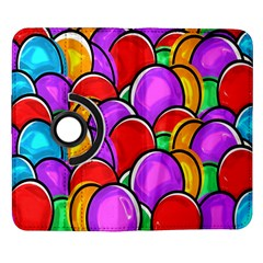 Colored Easter Eggs Samsung Galaxy Note II Flip 360 Case