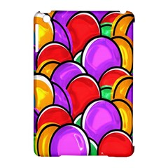Colored Easter Eggs Apple iPad Mini Hardshell Case (Compatible with Smart Cover)
