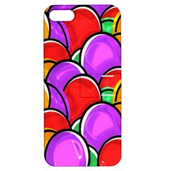 Colored Easter Eggs Apple iPhone 5 Hardshell Case with Stand