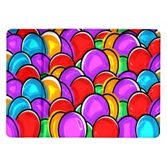 Colored Easter Eggs Samsung Galaxy Tab 10.1  P7500 Flip Case